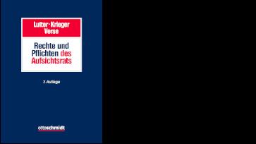 Lutter/Krieger/Verse Rechte und Pflichten des Aufsichtsrats