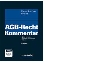 Ulmer/Brandner/Hensen, AGB-Recht Kommentar